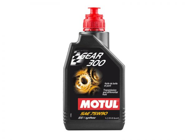 Motul Gear 300 SAE 75W-90 Getriebeöl Differentialöl 1 Liter 109395